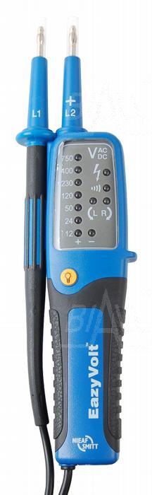 Zdjęcie produktu: Eazy Volt Tester elektryka 12-750V, LED, znak bezpieczeństwa B