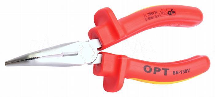 Zdjęcie produktu: OPT BN138V Szczypce telefoniczne odgięte izolowane 1000V 165mm VDE
