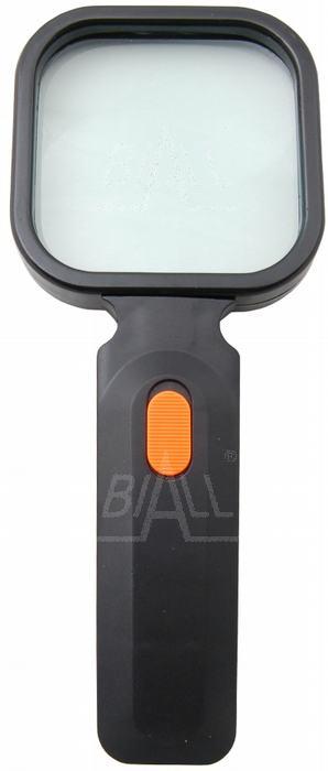 Zdjęcie produktu: Lupa ręczna podświetl. 80x80mm/3D,  4xLED (LR-2)