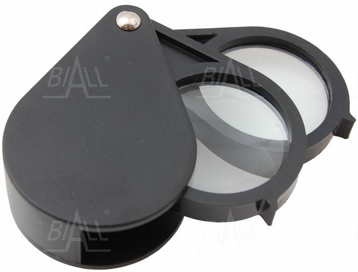 Zdjęcie produktu: Lupa ręczna składana podwójna 30mm/3D+5D