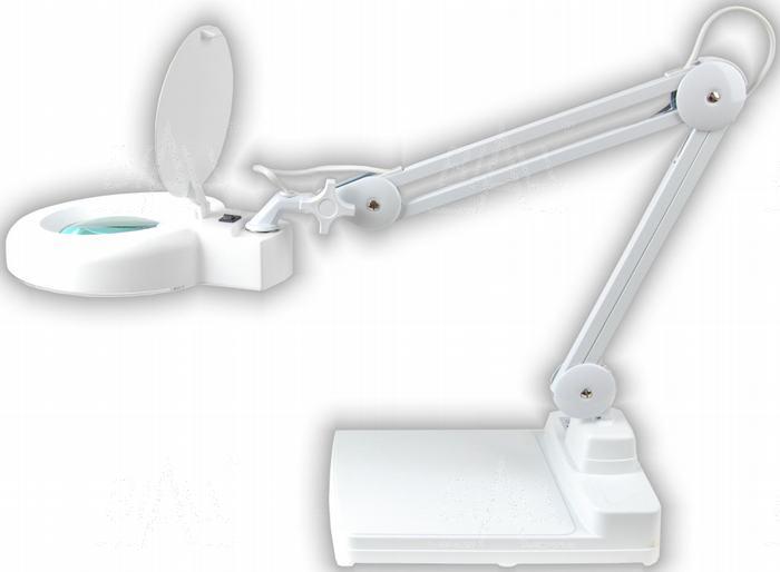 Zdjęcie produktu: Lampa biurkowa z lupą(127mm) 8066-2BHC 8D 22W