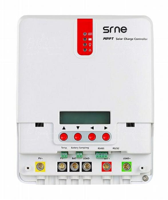 Zdjęcie produktu: Regulator ładowania solarny MPPT SR-ML4830 12/24/36/48V 30A RS232/485 1600Wp Vp <150V