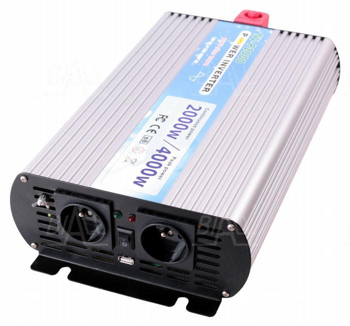 Zdjęcie produktu: Przetwornica P2000/12 12V/230V-50Hz-sinus 2000W
