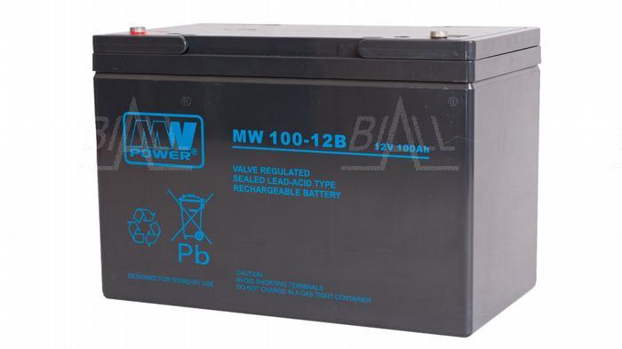 Zdjęcie produktu: Akumulator AGM MW 100-12h 12V/100Ah