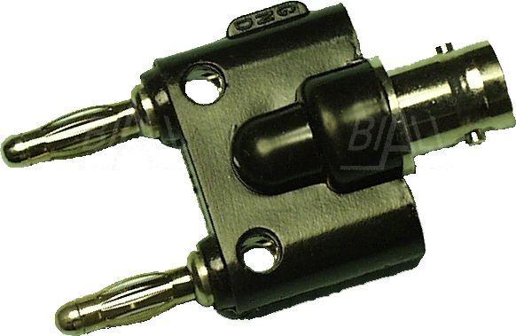 Zdjęcie produktu: Adapter gniazdo BNC - 2x wtyk 4mm AD 2156
