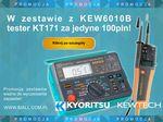 Promocja: Kyoritsu KEW6010B + Kewtech KT171