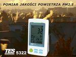 Pomiar jakości powietrza z uwzględnieniem pyłów zawieszonych PM2.5