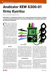 Analizator KEW6300-01