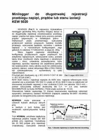 Minilogger KEW5020