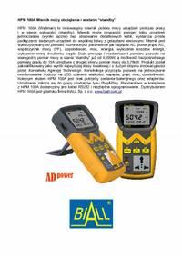 HPM 100A Miernik mocy obciazenia