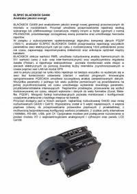 ELSPEC BLACKBOX G4400 Analizator jakosci energii